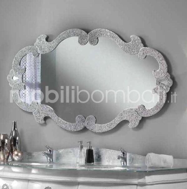 Specchio Moderno Argento