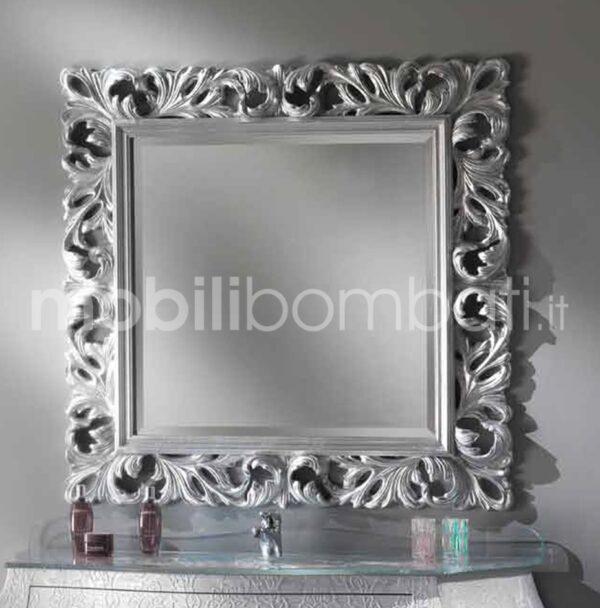 Specchiera in Stile Barocco in foglia d\'Argento - Le originali solo ...