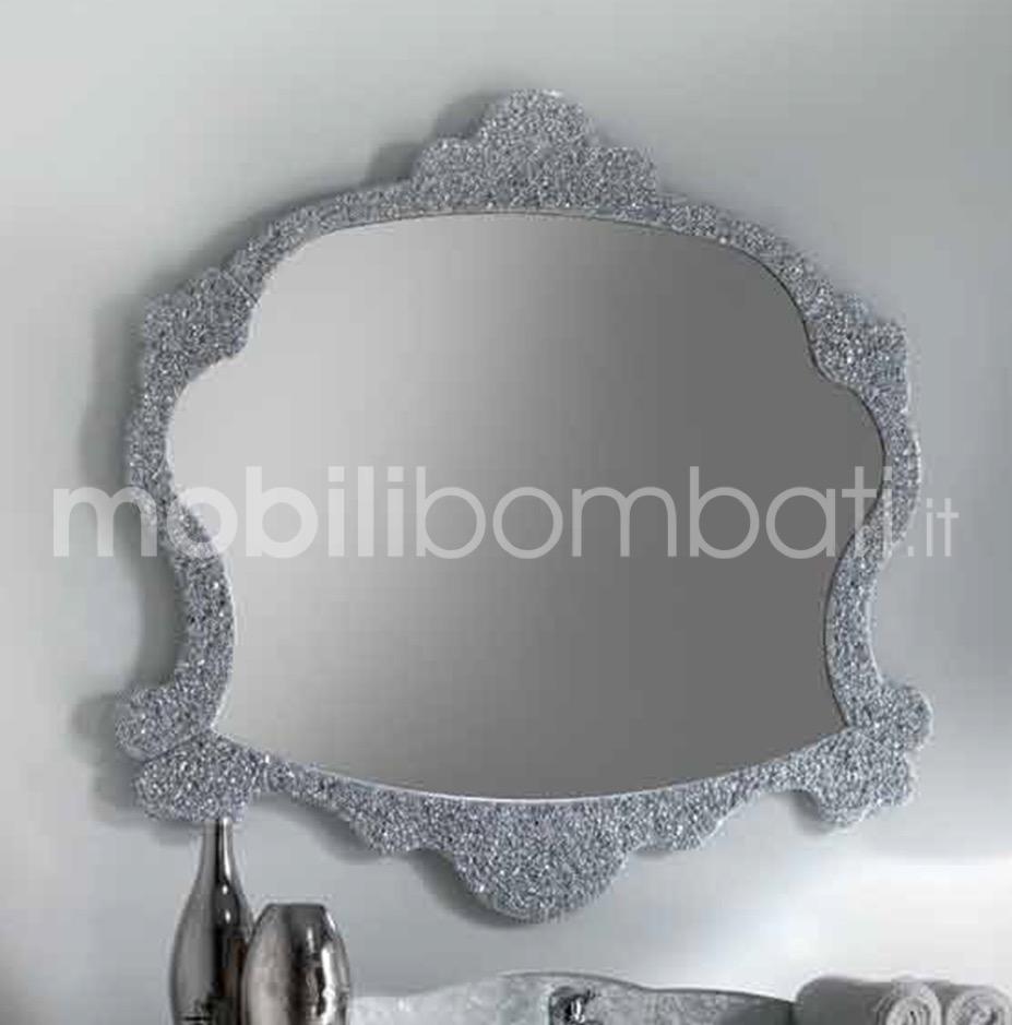 Specchio argento moderno le originali solo su - Specchio argento moderno ...