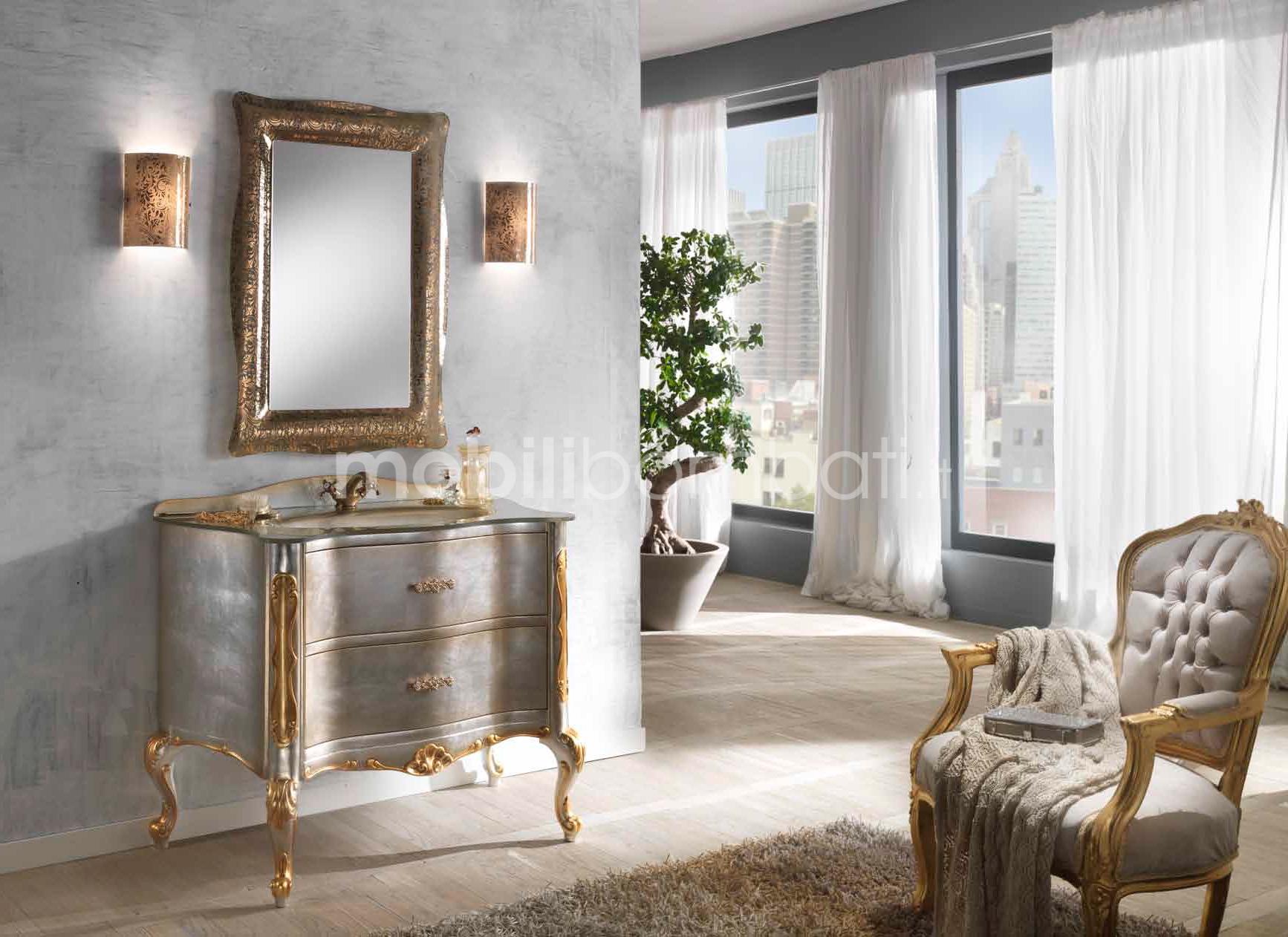 Mobile bagno stile barocchetto veneziano gli originali su - Mobile bombato bagno ...