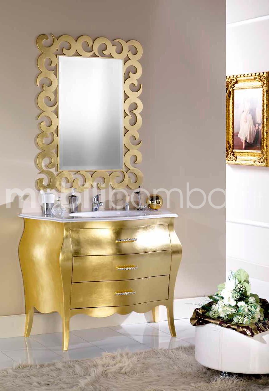 Mobili in stile barocco color oro crespato gli originali su - Mobili in stile barocco ...
