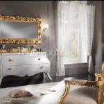 Mobiletto Bagno in stile barocco