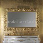 Specchio Barocco in Oro