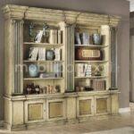 Libreria imperiale in legno