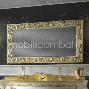 Specchio Barocco Intagliato a mano
