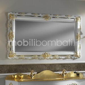 Specchio Barocco Intagliato Oro
