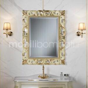 Specchio Barocco Intagliato foglia Oro