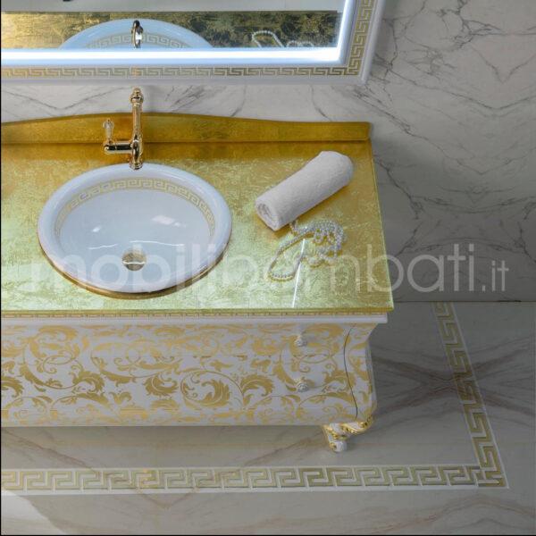 Produzione mobili bagno stile barocco